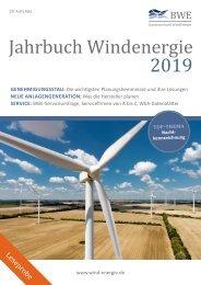 Jahrbuch Windenergie 2019 (Leseprobe)