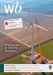 windblatt 01/2019 – das ENERCON Magazin