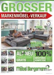 Großer Markenmöbel-Verkauf