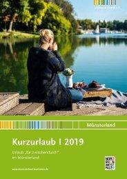 Katalog Kurzurlaub Muensterland 2019