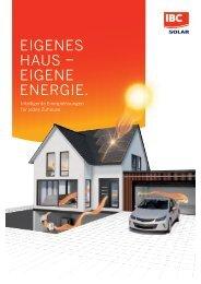 Eigenes Haus - Eigene Energie. Intelligente Energielösungen für jedes Zuhause.