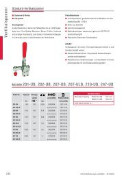 Modelle 201-UB, 202-UB, 207-UB, 207-ULB, 210-UB ... - Leschhorn