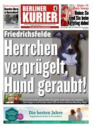 Berliner Kurier 21.05.2019