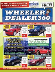 Wheeler Dealer 360 Issue 21, 2019