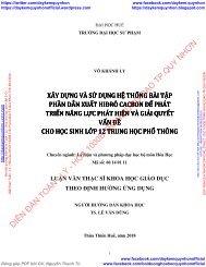XÂY DỰNG VÀ SỬ DỤNG HỆ THỐNG BÀI TẬP PHẦN DẪN XUẤT HIĐRÔ CACBON ĐỂ PHÁT TRIỂN NĂNG LỰC PHÁT HIỆN VÀ GIẢI QUYẾT VẤN ĐỀ CHO HỌC SINH LỚP 12 TRUNG HỌC PHỔ THÔNG