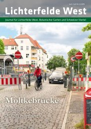 Lichterfelde West Journal Juni/Juli 2019