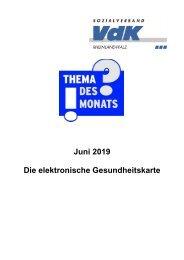 TdM Juni 2019 Elektr Gesundheitskarte
