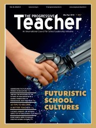 The Progressive Teacher Vol 06 Issue 01