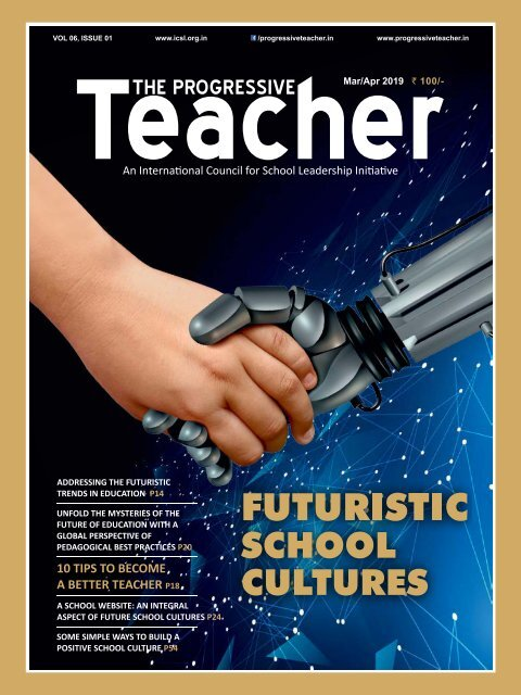 The Progressive Teacher Vol 06 Issue 01