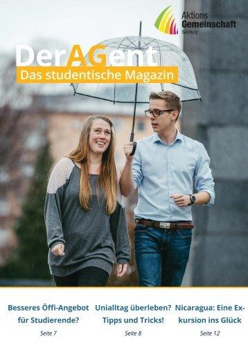 Der AGent - das studentische Magazin