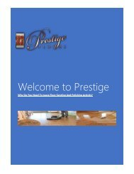 Prestige Floor Polishing Melbourne