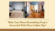 Renovation Contractors - San Diego Home Remodeling