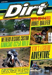 Dirt and Trail June 2019