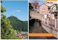 Wahlprogramm 2019 CDU-Annweiler
