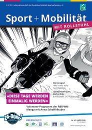 Sport + Mobilität mit Rollstuhl 03/2018