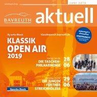 Bayreuth Aktuell Juni 2019