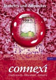 Leseprobe CONNEXI Diabetes und Adipositas Ausgabe 4-2019