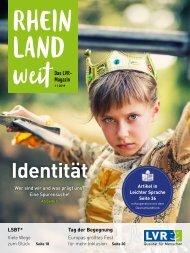 RHEINLANDweit - das LVR-Magazin 1/2019