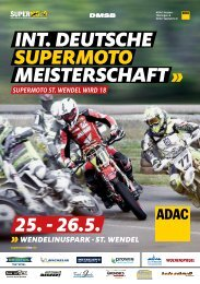 INT. DEUTSCHE  SUPERMOTO MEISTERSCHAFT -  ST. WENDEL