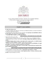 LECTURE Ensayos Academicos - USPG