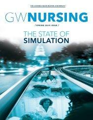 GW Nursing Magazine Spring 2019
