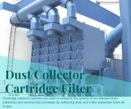 Baghouse America Dust Collection Cartridges Manufacturer