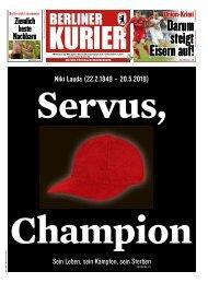 Berliner Kurier 22.05.2019