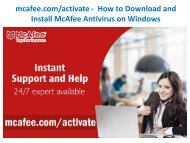 mcafee activate -  How to Download and Install McAfee Antivirus on Windows-converted