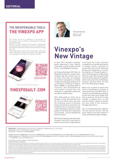 Vinexpo Daily 2019 - Review Edition