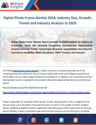 Digital Photo Frame Market Size, Growth, Trends and Industry Analysis to 2025