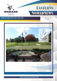 Nomads Magazine - Kempton Park May 2019