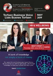 Torfaen Business Voice Newsletter May 2019 English
