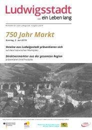 Marktblatt 2019 750 JahrMarkt