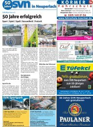 50 Jahre SV-Neuperlach