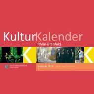 KulturKalenderRhoenGrabfeldSommer2019