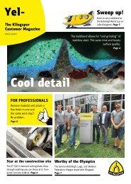 Yellow. The Klingspor customer magazine - Edition 2|2017