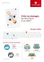 Livret d'idées n°15 : Créer ou manager, les deux faces d'un chef ?