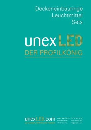 Deckeneinbauringe / Leuchtmittel / Sets
