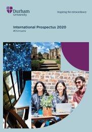 Durham International Prospectus 2020