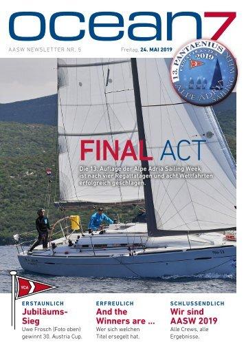 Alpe Adria Sailing Week 2019 – Tag 5, 24.5.