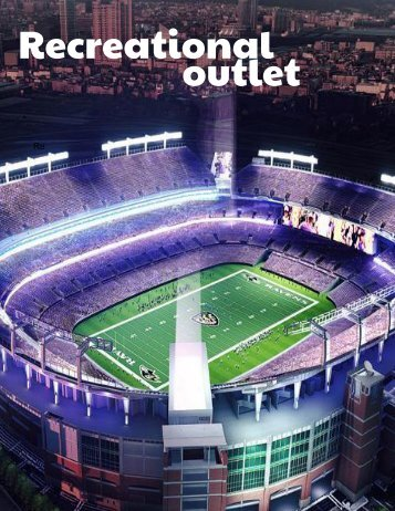 Recreational outlet