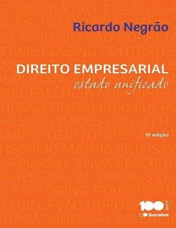 Direito Empresarial - Ricardo Negrão
