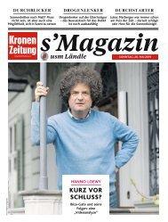 s'Magazin usm Ländle, 26. Mai 2019