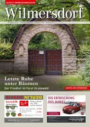 Gazette Wilmersdorf Juni 2019