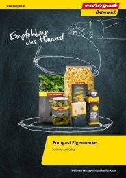 Eurogast Eigenmarken Katalog