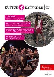 Kulturkalender Juni 06/19