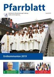 2019-06 Pfarrblatt Freiburg