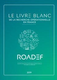 Le Livre Blanc de la ROADEF - Version 2019