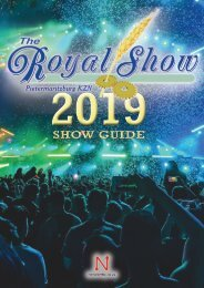 ROYAL SHOW 2019 GUIDE