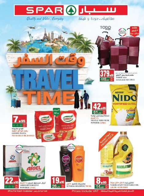 SPAR flyer from 22 to 28 May 2019